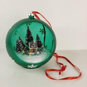 Mr Christmas Sparkling Scene Musical Ornament 2007